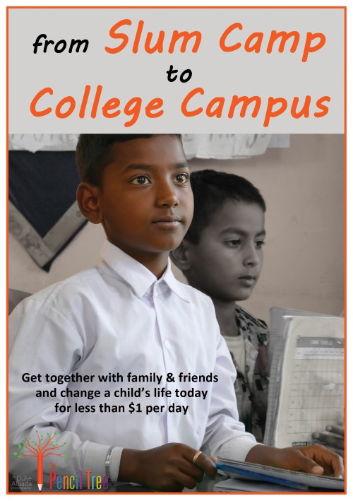 Slum Camp to College Campus